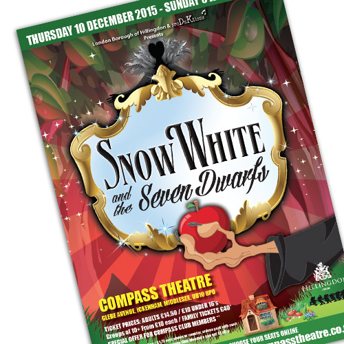 Theatre Advertising – Snow White