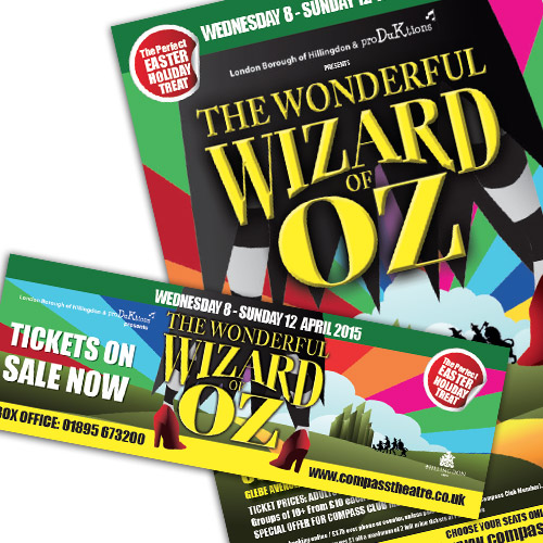 Theatre Advertising – Wizard of Oz
