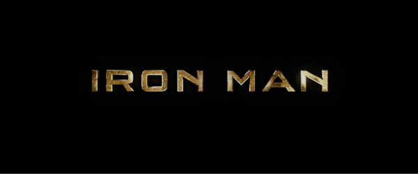 Iron Man (2008) titles.