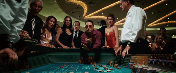Jon Favreau as Happy Hogan (with Robert Downey Jr as Tony Stark)