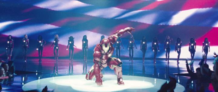 Iron Man in Iron Man 2 (2010)