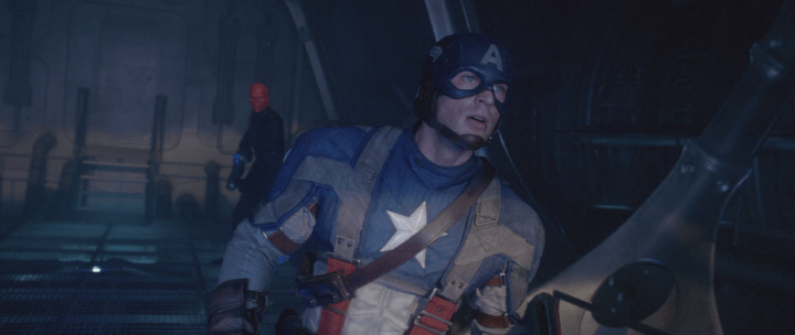 The Red Skull and Captain America in Captain America: The First Avenger (2011)