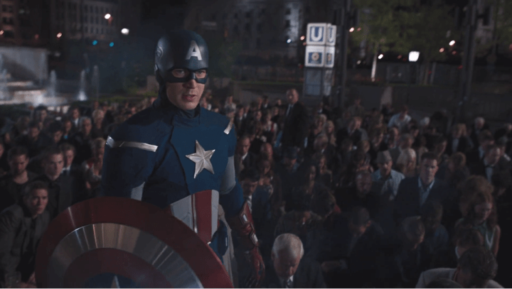 Captain America Mark 2 in The Avengers (2012)