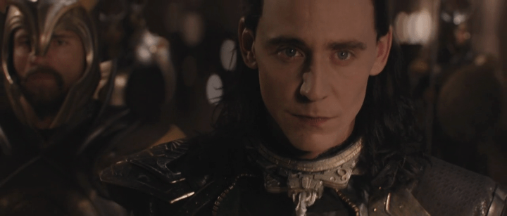 Tom Hiddleston as Loki in Thor: The Dark World (2013)