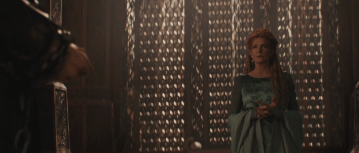 Rene Russo as Frigga in Thor: The Dark World (2013)