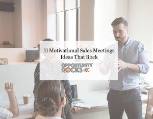 sales team meeting