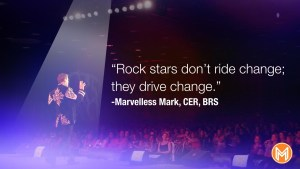 A rock star motivational quote from Marvelless Mark.