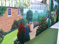 Garden Murals Related Keywords & Suggestions - Garden ...