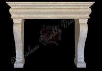 spanish crema marfil mantel | Marble Mantels | Marvelous