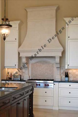 cast stone range hood  stone Kitchen Hood  Marvelous