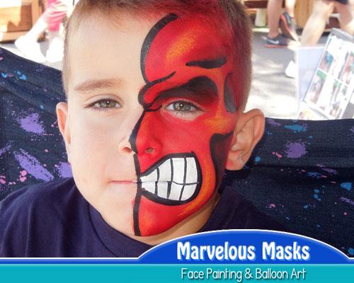 marvelous masks chicago face
