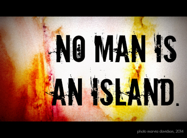 no man an island marvia davidson