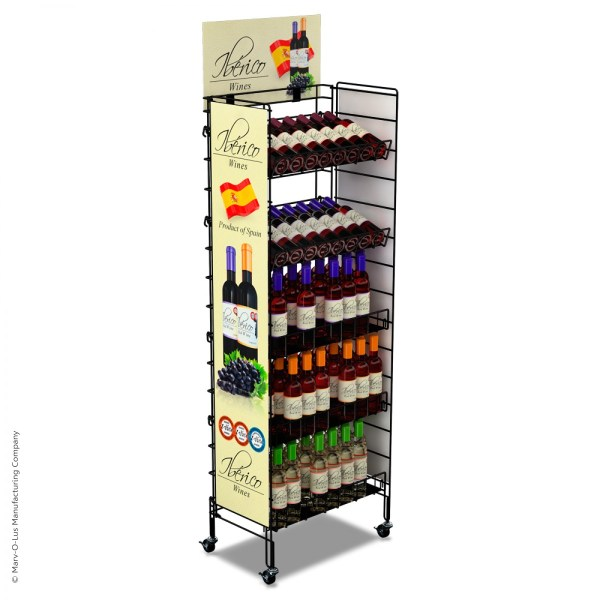 Retail Floor Display Racks