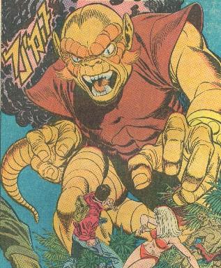 Gog Tsiln SpiderMan and KaZar character
