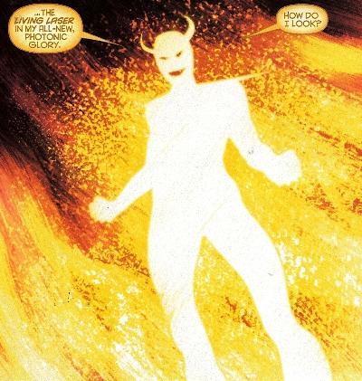 Living Laser Iron ManAvengersSpiderMan etc foe
