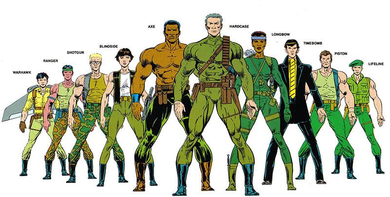 Harriers Wolverine characters
