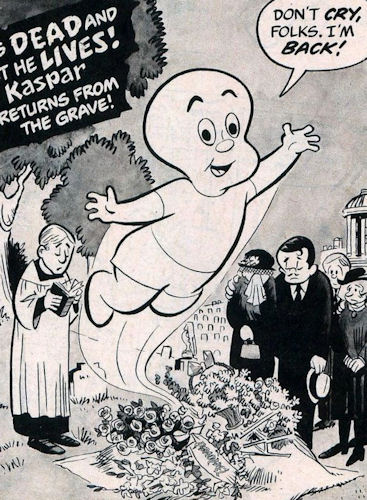 Kaspar the Dead Baby Crazy Magazine character
