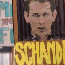 Proteste in Österreich: »Ich wünsche mir den Sturz dieser Regierung«