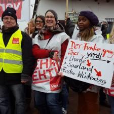 Pflegeaufstand 2017: Fünf Gewerkschaftsaktivistinnen und Unterstützer berichten