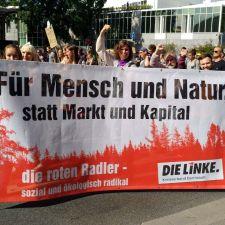 Wie DIE LINKE in Darmstadt die Klimabewegung rockt