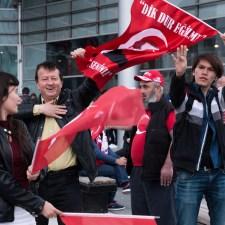 Wahlkampf in Almanya: Verbote stärken Erdoğan