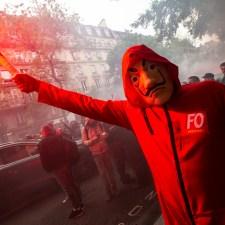 Streikwelle in Frankreich: Die Schlacht beginnt