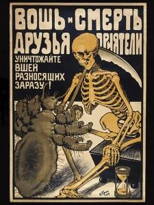 Plakat »Die Laus und der Tod sind Freunde«