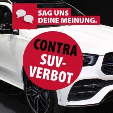 Debatte: Autofreie Stadt statt SUV-Verbot!