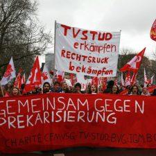Berlin: Warnstreik der studentischen Beschäftigten