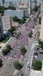 Passeata dos 50 mil em Curitiba