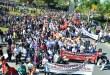 28/4: manifestação de massas em Joinville