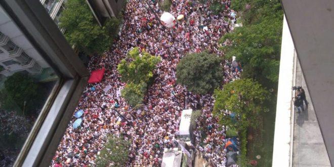 Viva a luta dos servidores municipais de São Paulo! Fora Dória!