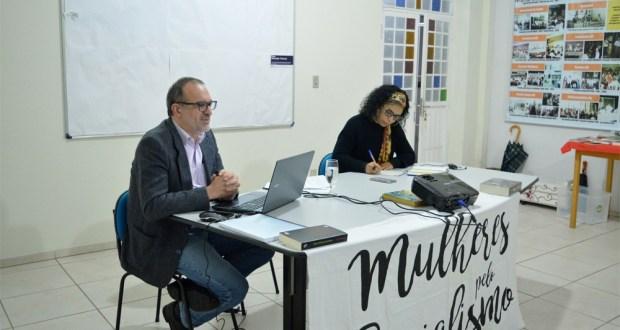 Atividade sobre reforma da previdência em Joinville