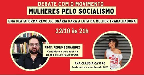 Live: Debate com o movimento Mulheres pelo Socialismo