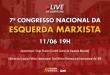 Live: Abertura do 7º Congresso da Esquerda Marxista (CMI – Brasil)