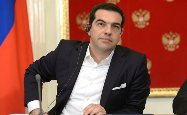 Alexis Tsipras Image Пресс служба Президента России
