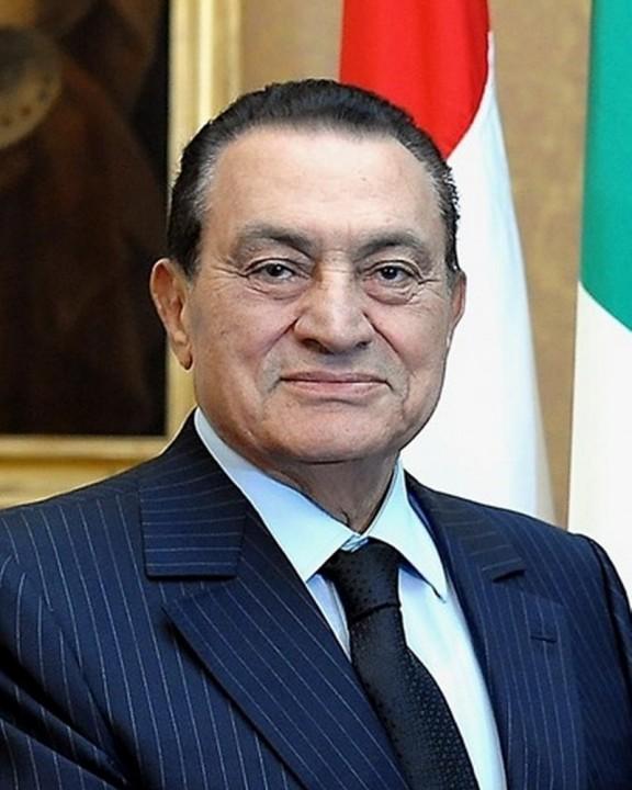 Hosni Mubarak ritratto Image Presidenza della Repubblica