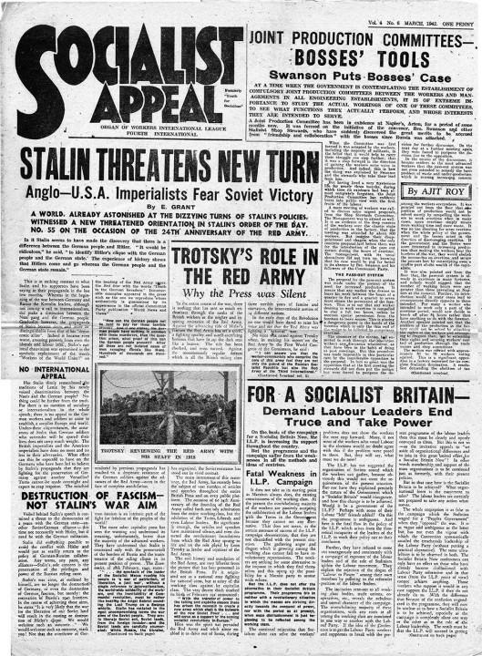 Trotsky letter 8