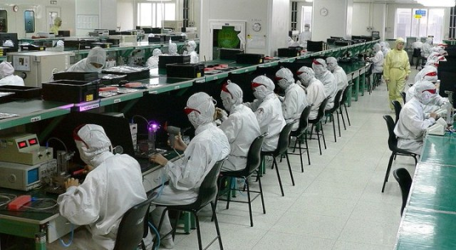 Electronics factory in Shenzhen Image Steve Jurvetson