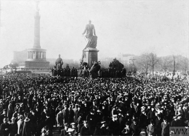 German Revolution 1918