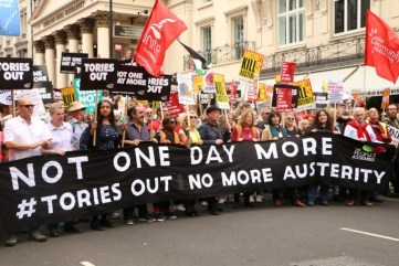 Tories out no more austerity Image Socialist Appeal