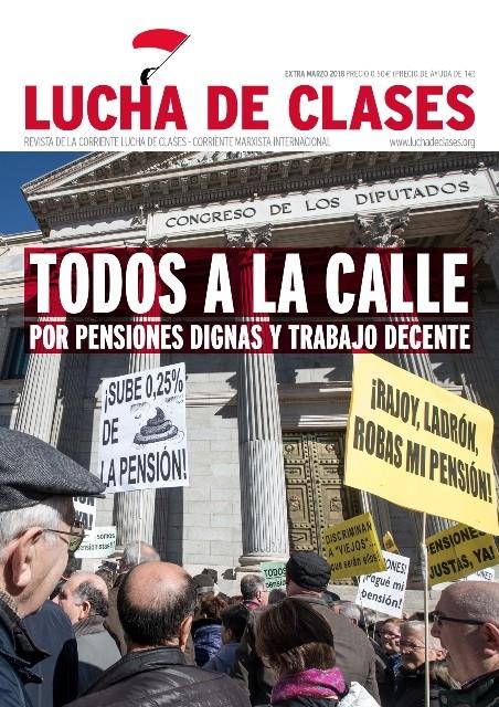Lucha de clases cover pensions strike Foto Lucha de Clases