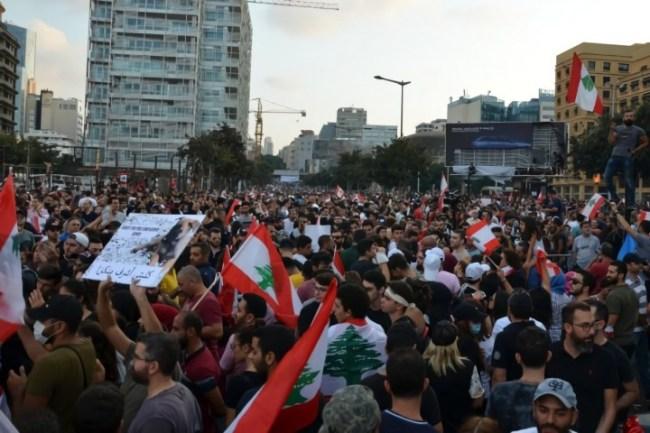 Lebanon revolution Image public domain
