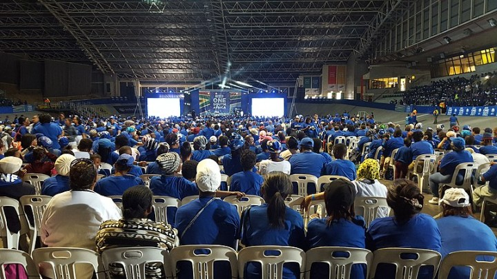 Democratic Alliance Western Cape Provincial Manifesto launch supporters Image Lefcentreright