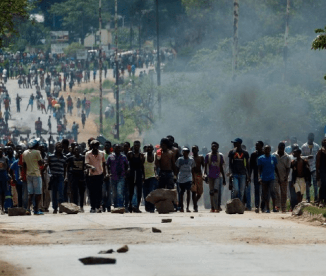 Zimbabwe Boils Over General Strike Has Insurrectionary Implications