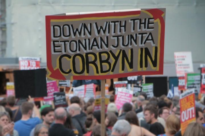 Corbyn in Etonian Junta Image Socialist Appeal