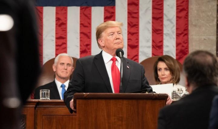 Donald Trump 2019 address Image public domain