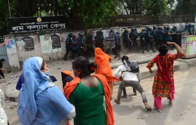Bangladesh garmant protest 5