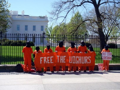 Protest for the Uyghurs Image Daniel Lobo