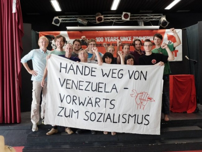 Hans young comrades